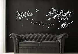 online shop tree branches bird wall papers home decor 3d home