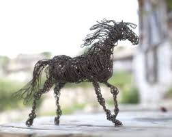 horse statue home decor statues etsy
