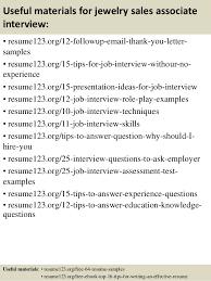 Top   jewelry sales associate resume samples