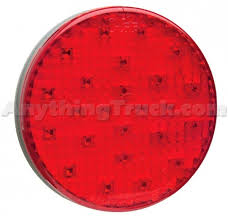 grote led trailer lights grote 53312 supernova 4 full pattern led stop tail turn l