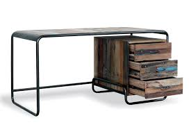 Reclaimed Boat Wood Furniture Urban Reclaimed Wood U0026 Cast Iron Desk With Drawers