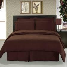 amazon com clara clark duvet cover full queen chocolate brown