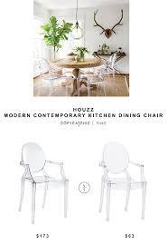 Houzz Dining Chairs Houzz Modern Contemporary Kitchen Dining Chair Copycatchic