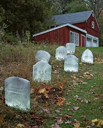 halloween headstones tombstone decorations for your lawn martha stewart