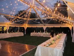 wedding tents 40 60 clear top blue peak tents inc