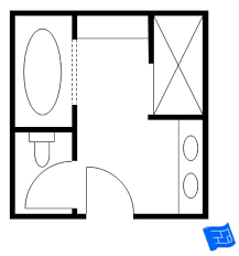 Master Bathroom Floor Plans - Master bathroom design plans