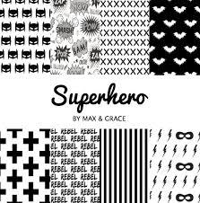 superhero crib set black and white crib bedding batman