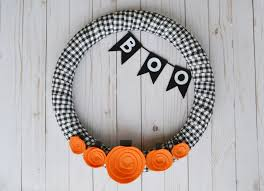 Black Halloween Wreath Five Little Pumpkins Halloween Wreath U2013 Mary Martha Mama