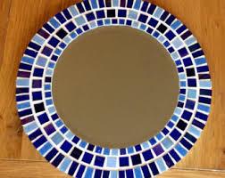 Mosaic Bathroom Mirrors by Mosaic Wall Mirror Square Mirror Wall Art Beach Decor