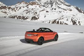 range rover convertible 2017 range rover evoque convertible is a go anywhere droptop