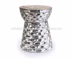 aluminium drum stool aluminum stool decorative stool outdoor