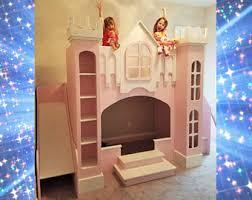 Princess Castle Bunk Bed Princess Bed Etsy