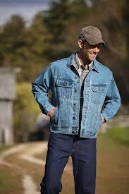 Rugged Wear Clothing Wrangler Rugged Wear Mens Vintage Indigo 100 Cotton Unlined