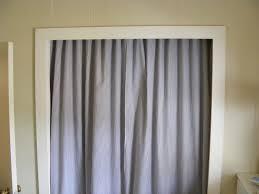 Closet Door Ideas Diy by Gorgeous Closet Door Curtains On Real Livin With Hsb Diy Closet