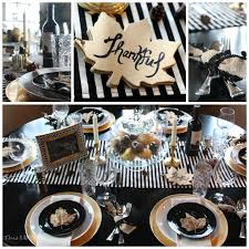 white thanksgiving diy projects for your thanksgiving tablescape black white u0026 gold