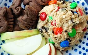 monster cookie dough dip better batter gluten free flour