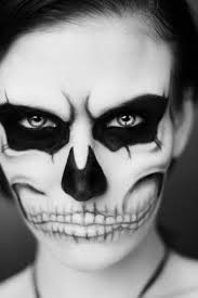 black and white halloween face paint ideas ween csat co