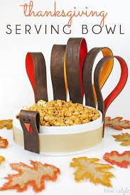 serving bowl becomes a thanksgiving turkey hometalk