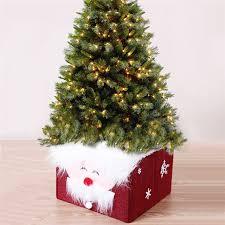 Santa Claus Christmas Tree Decorations by Aliexpress Com Buy Foldable Santa Claus Xmas Christmas Tree