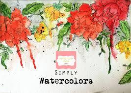simply watercolors online workshop