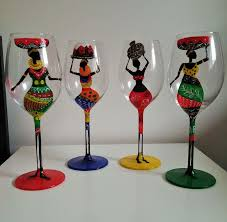 best painted wine glasses u2014 paint inspirationpaint inspiration