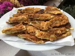 cuisiner fleurs de courgettes recette beignets de fleurs de courgettes la cuisine familiale