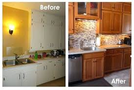 Refacing Kitchen Cabinets Diy Reface Kitchen Cabinets Before And After U2013 Frequent Flyer Miles