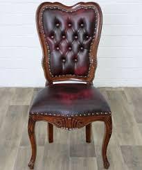 bureau style victorien chaise visteur de bureau style anglais victorien en acajou