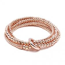 rose gold silver bracelet images Yard of love rose gold wrap bracelet annie haak jpg