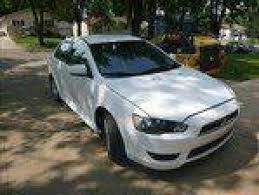 white mitsubishi lancer mitsubishi lancer sedan in south dakota for sale used cars on