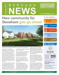 summer borough news 2017 eastleigh borough council by eastleigh