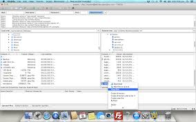 set application to open file types in filezilla using mac