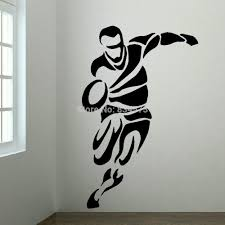 cheap bedroom mdf buy quality bedroom drawing directly from china large upto rugby player bedroom wall art mural transfer sticker vinyl decal bespoke graphics pride ourselves on quality and service