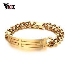 cross bracelet charm images Vnox cross bracelet for men stainless steel chain classic daily jpg