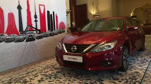 nissan altima 2013 review uae 2017 nissan altima reveal it u0027s new and its improved youtube