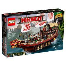 lego ninjago movie destiny u0027s bounty 70618 includes 7 minifigures