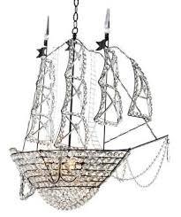 pirate ship light fixture high vs low crystal ship chandelier pirate ships chandeliers