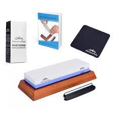 best whetstone for kitchen knives best whetstone knife sharpener kit 1000 6000 grit knife