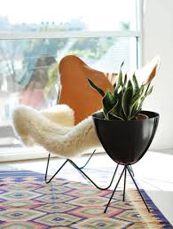 faux fur butterfly chair modern chairs design