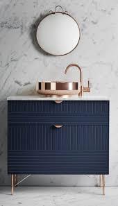 Bathroom Freestanding Cabinet This Navy Bathroom Freestanding Cabinet Is Amazing Coupled With A