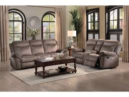 homelegance living room d recliner sofa with drop down cup