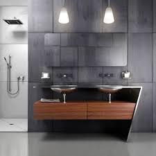 interesting modern bathroom vanity with black drawers photo