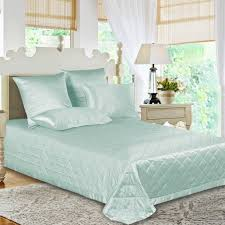 Teal Coverlet Green Silk Coverlet From High Quality Mulberry Silk