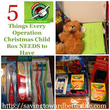 5 things every operation christmas child shoebox needs a few