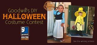 Create Halloween Costume Events Promotions Goodwill Donation Store Centers