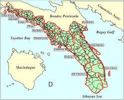 san francisco quezon map bondoc peninsula a travel guide to the third disctrict of quezon
