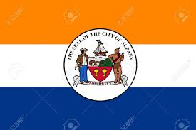 Flag Capital Flag Of Albany Is The Capital Of New York State United States