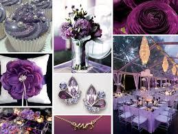 purple and silver wedding purple wedding