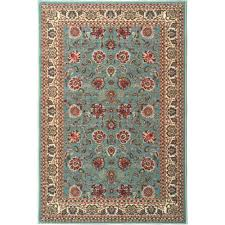 Rubber Backed Bathroom Rugs by Ottomanson Ottohome Collection Persian Oriental Design Sage Green