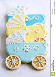 baby shower cookies baby shower cookies stock images image 33393554